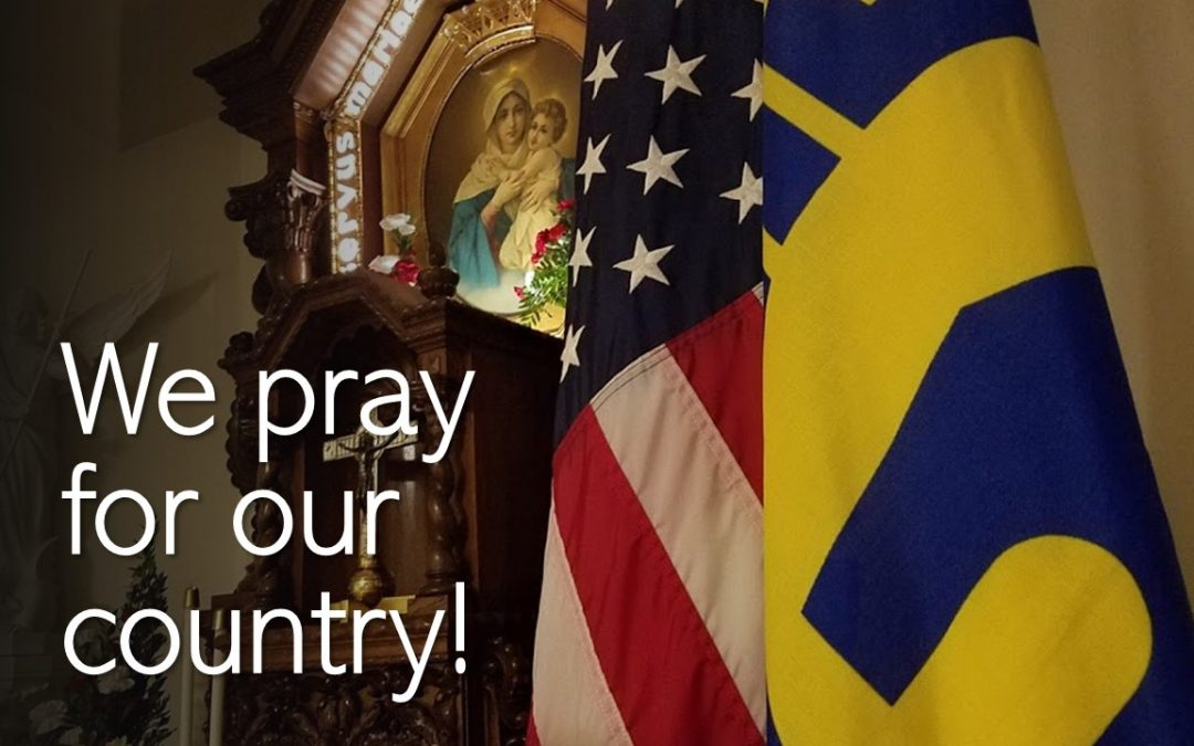 We pray for our country!