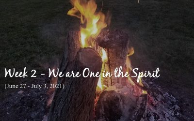 Week 2 – We are One in the Spirit