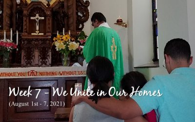 Week 7 – We Unite in Our Homes
