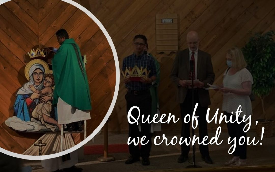 Queen of Unity, we crowned you!